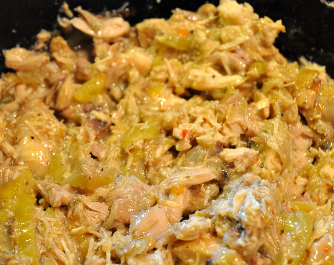 Crock Pot Italian Shredded Chicken