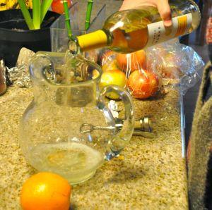 Unoaked Chardonnay pour