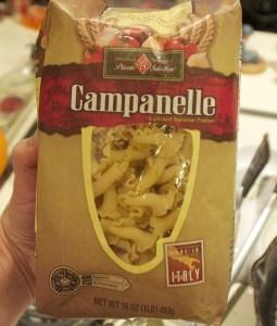 campanelle pasta