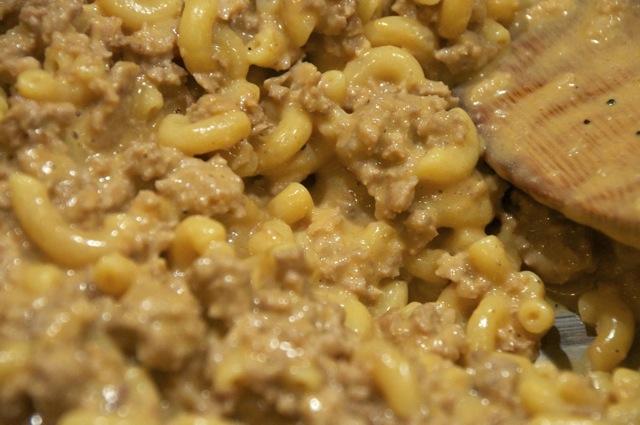 cheeseburger macaroni skillet