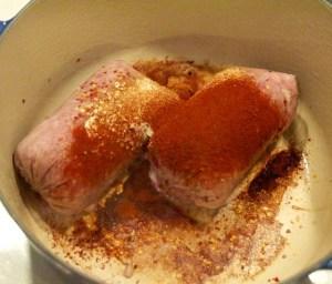 ground pork with Italian sausage seasoning