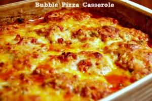Hunk of Meat Monday: Bubble Pizza Casserole