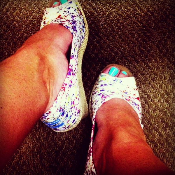 toms splatter wedges