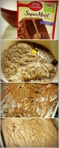 Cake Mix Brownies Recipe Picture Steps