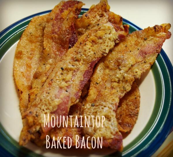 Mountaintop Oven Baked Bacon