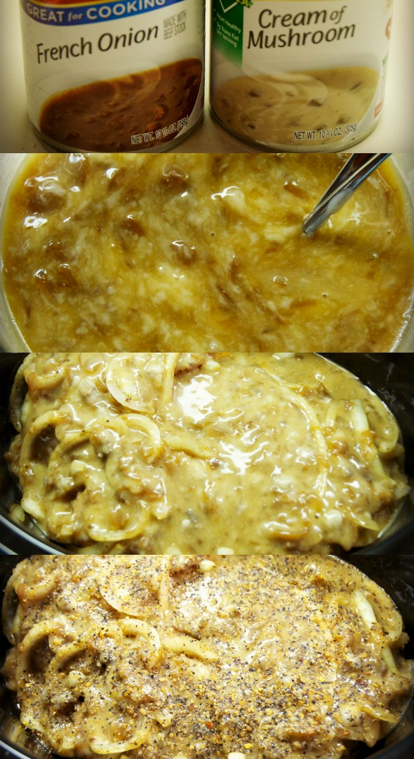 French onion cream sauce