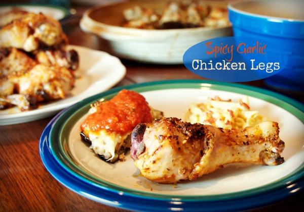 Spicy Garlic Chicken Legs