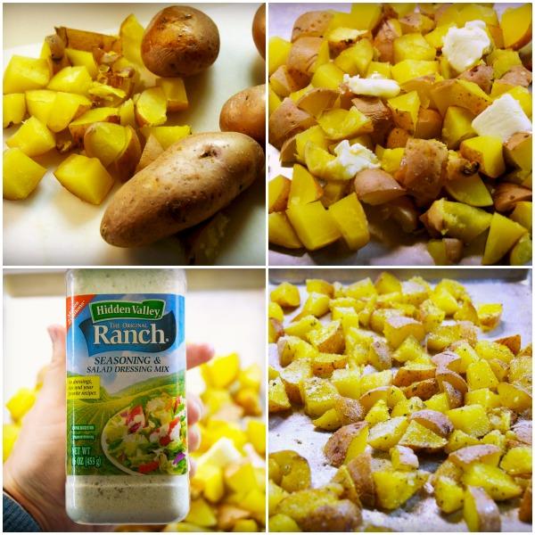 baked ranch potatoes