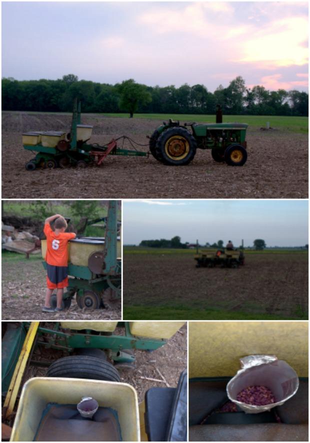 old equipment new seed technology #FarmSizeDoesntMatter