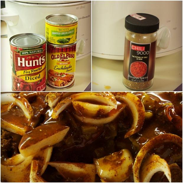 Chipotle Beef Ingredients