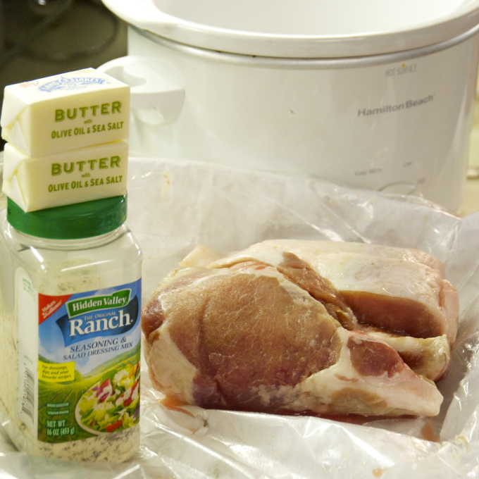 Crock Pot Ranch Pork Chops