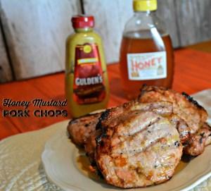 Easy Honey Mustard Pork Chops