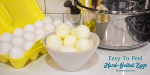 How to make easy to peel hard-boiled eggs? There are a lot of tricks to easy to peel eggs. Here is the full-proof secret for easy to peel eggs with no green yokes too.