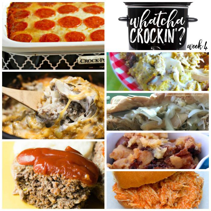 Whatcha Crockin' – Week 4 – Crock Pot Recipes