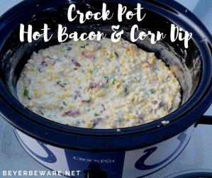 Crock Pot Hot Bacon and Corn Dip