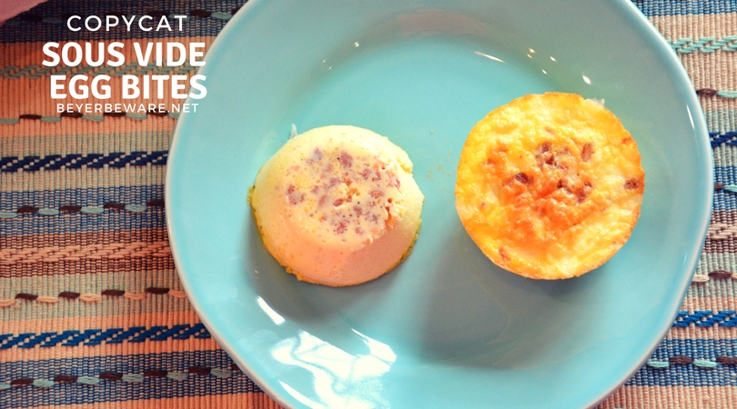 These copycat sous vide egg bites recipe have a velvety smooth texture for a on-the-go low-carb, high-protein breakfast.