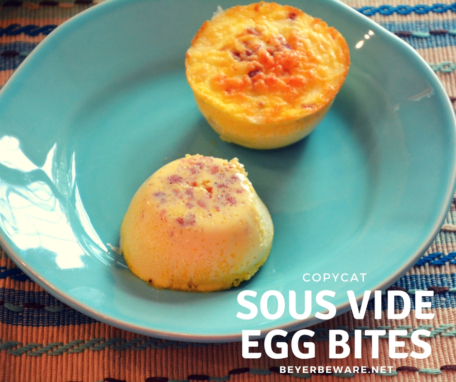 Sous Vide Egg Bites Copycat Recipe