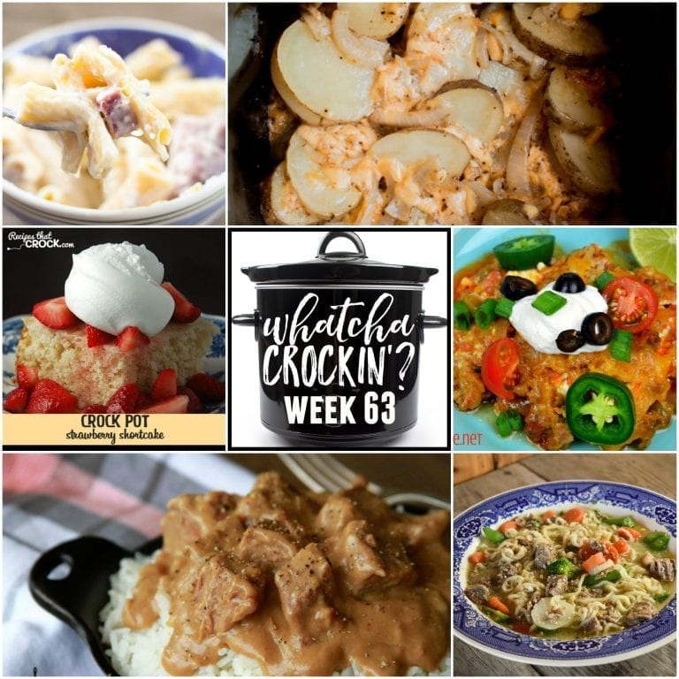 Slow Cooker Campfire Potatoes – Whatcha Crockin' – Week 63