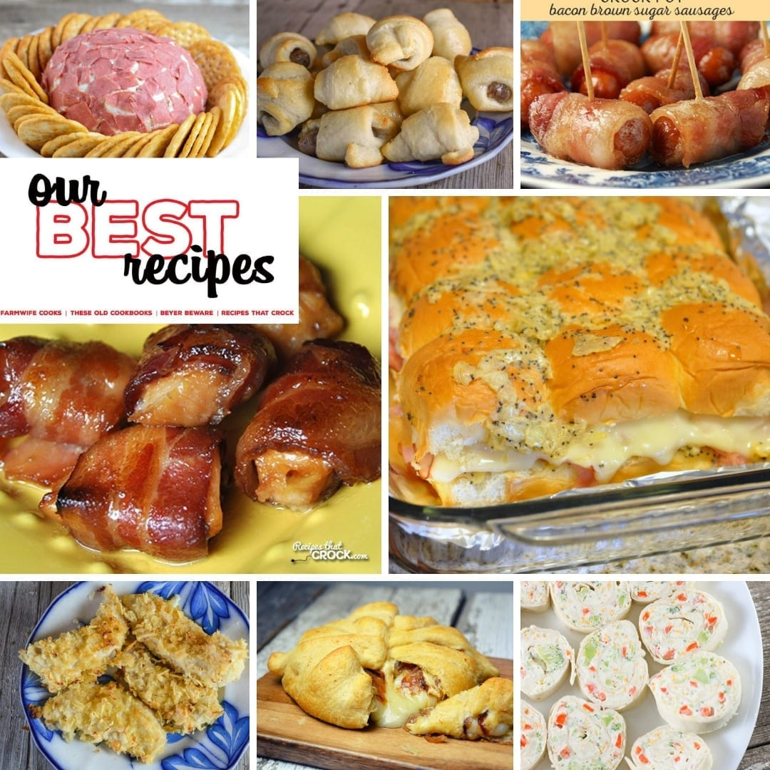 Having the best appetizer recipes in your back pocketis always important. It doesn't matter if it is a Christmas party, girl's night, game night or birthday party, people love to have snacks. #appetizers #Bacon #Cheese