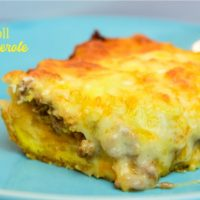 Crescent Roll Breakfast Casserole - Easy Sausage Egg Casserole
