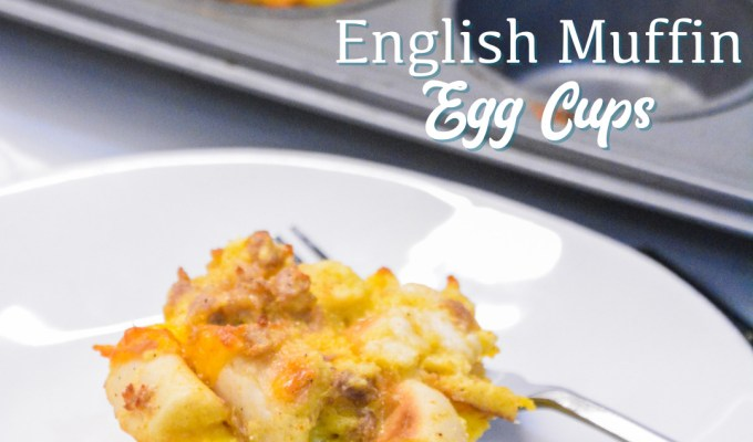 English Muffin Egg Cups – Individual Breakfast Casseroles