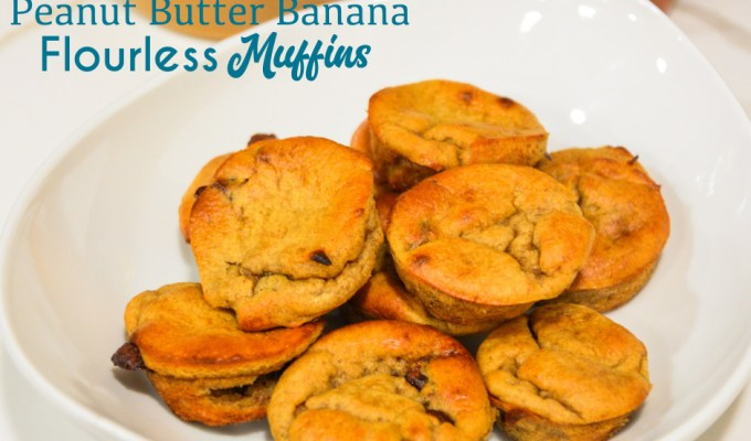 Easy Peanut Butter Banana Muffins – Blender Banana Muffins