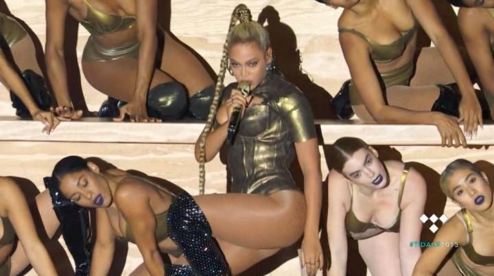Beyoncé se apresenta no Tidal X 2016 (Foto: Reprodução)