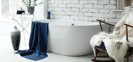 Waters Natura - Loche Back-to-Wall Bath 1