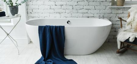 Waters Natura - Loche Back-to-Wall Bath 2
