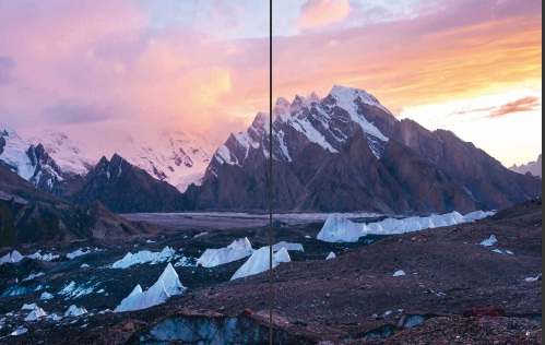 Ka rakoram mountain range, Northern Pa kistan