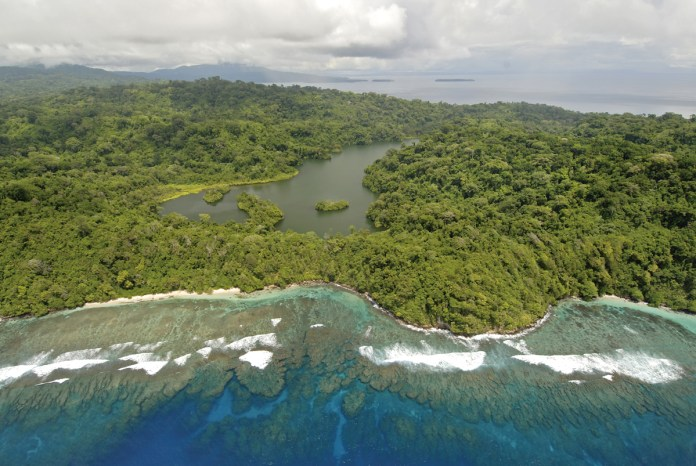 Tetepare Island in the Solomon Islands