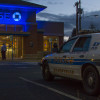 Police responded to a bank robbery at Chase Bank at 4800 Evergreen Way in Everett, WA.