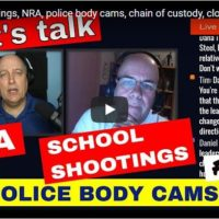 Let's talk school shootings, NRA, police body cameras, unclaimed property