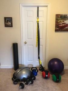 Convenient workout equipment