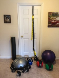 Convenient workout equipment