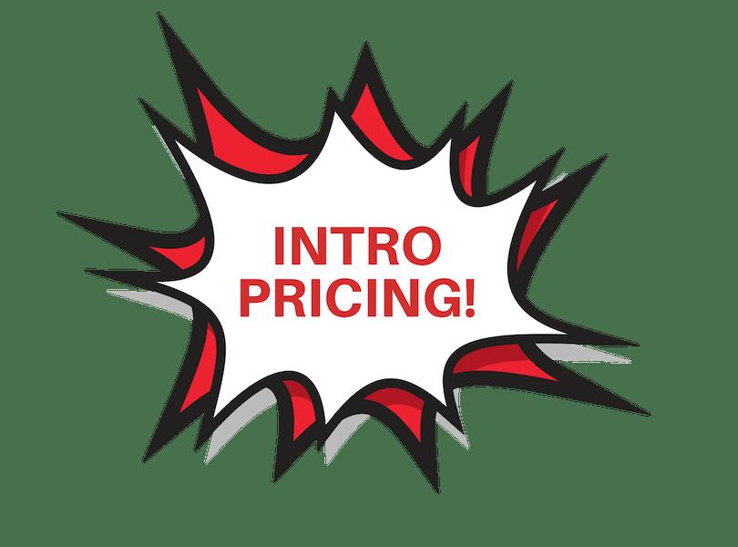 INTRO PRICING