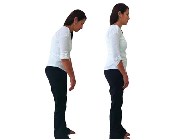 All bodies do with posture correction.