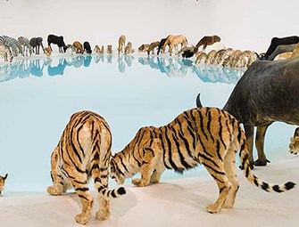 Lunch with Cai Guo-Qiang