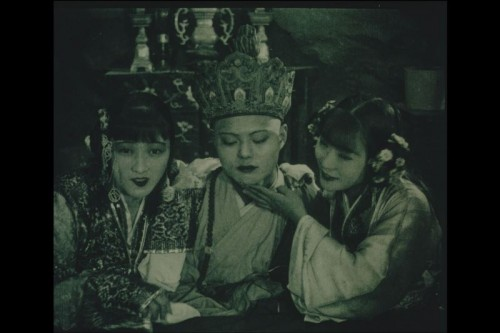 Still from The Cave of the Silken Web