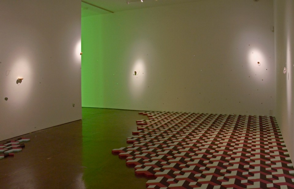 Installation view. Courtesy of Klein Sun Gallery.