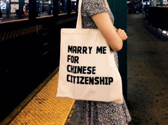 "Li Shuang: ""Marry Me for Chinese Citizenship"""