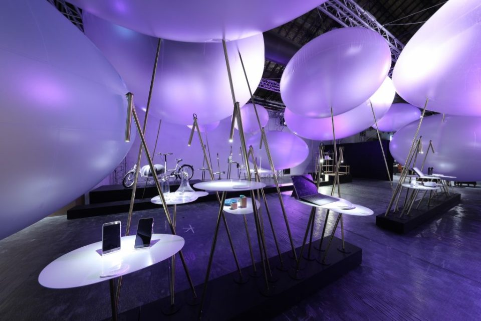 """Inside """"The Power of Taiwan Design Pavilion"""" at the World Design Capital Taipei 2016 International Design House Exhibition."""