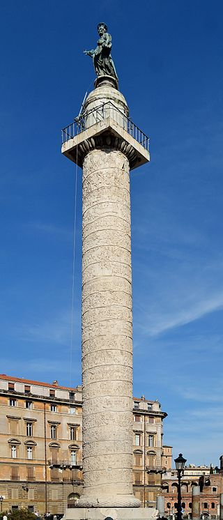 Trajan's Column, Rome Source - Wikipedia