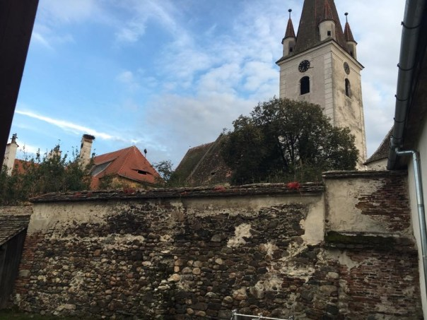 The fortified church next to Sibiu Photo credit: Alex, Sever Sound