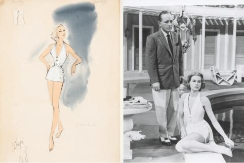 Grace Kelly Moda Ilustración