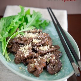 Nuhbiania is an ancient style easy Korean beef