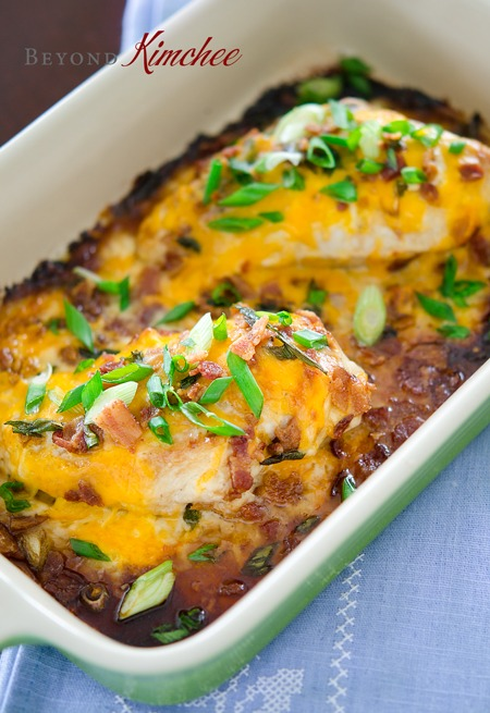 teriyaki ranch chicken bake