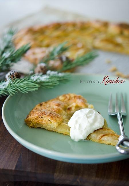 Easy apple tart or galette