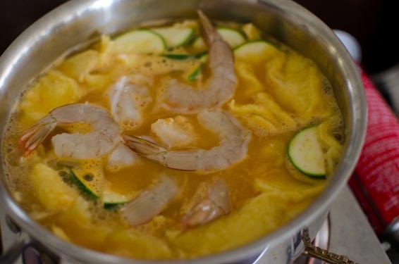 corn dumpling soup-19