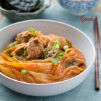 Braised Pork Ribs and Kimchi